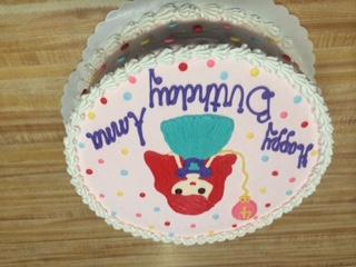 Redhead Princess Cake 56