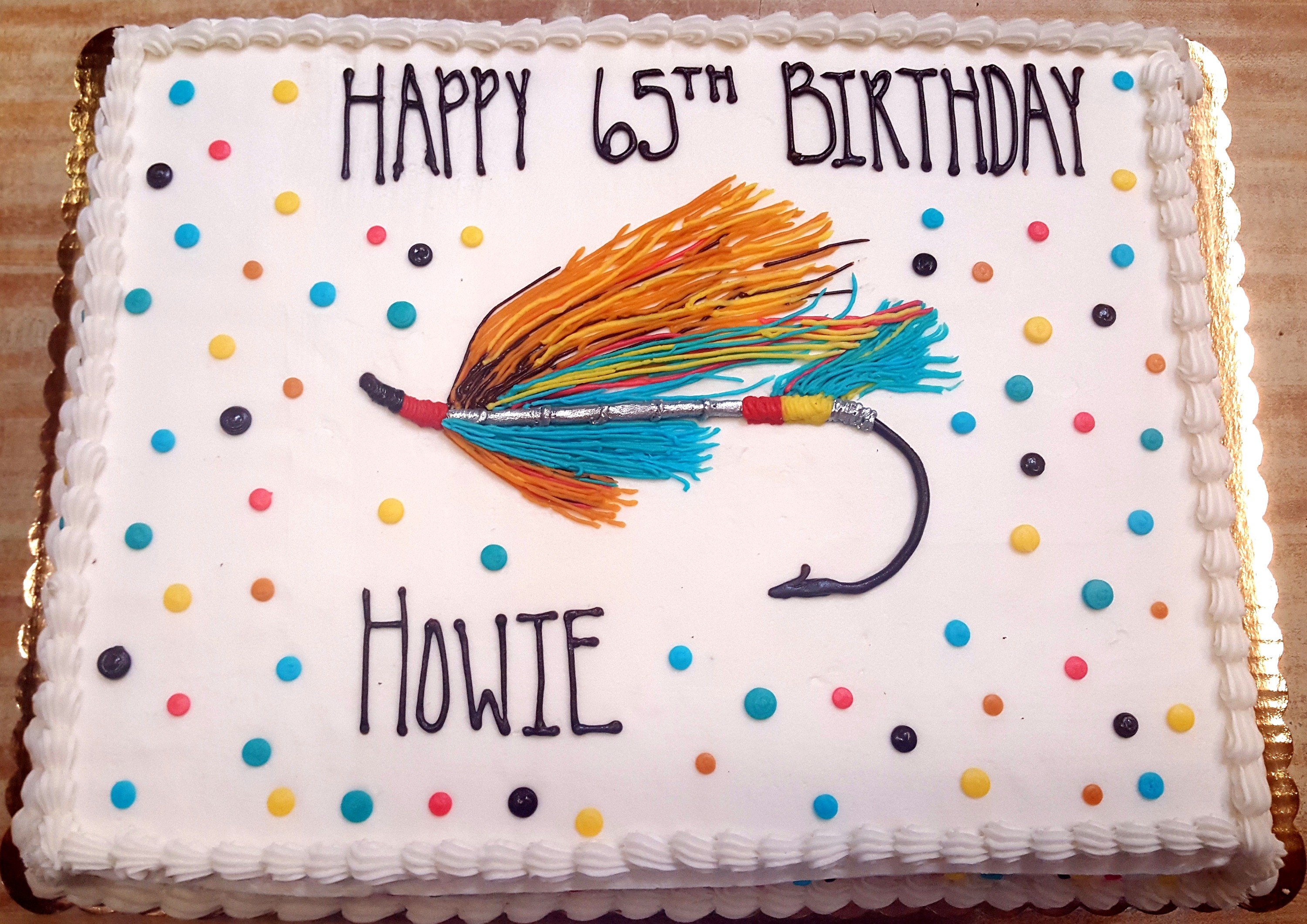 Fly Fishing Cake 6