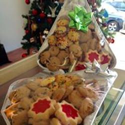 Christmas Tree Cookie Tins
