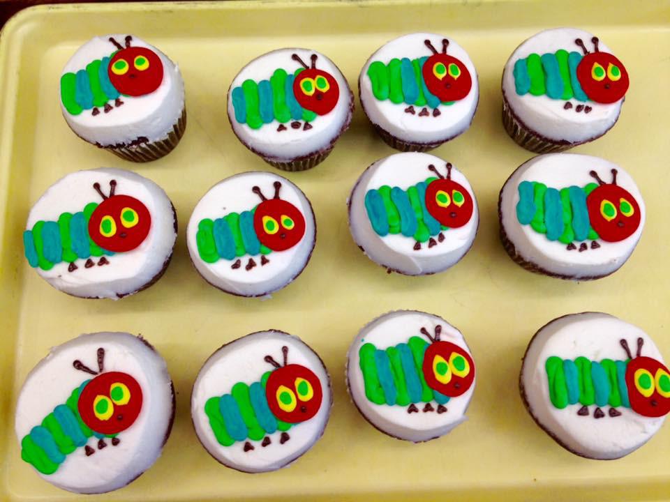 Bookworm Cupcakes 11