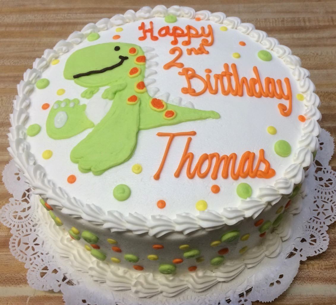 Dinosaur Birthday Cake 26