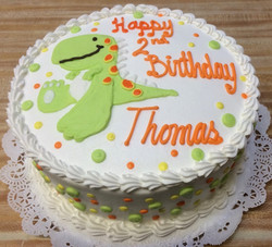 Dinosaur Birthday Cake 26