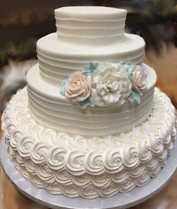 Fine Textured Lines and Rosettes