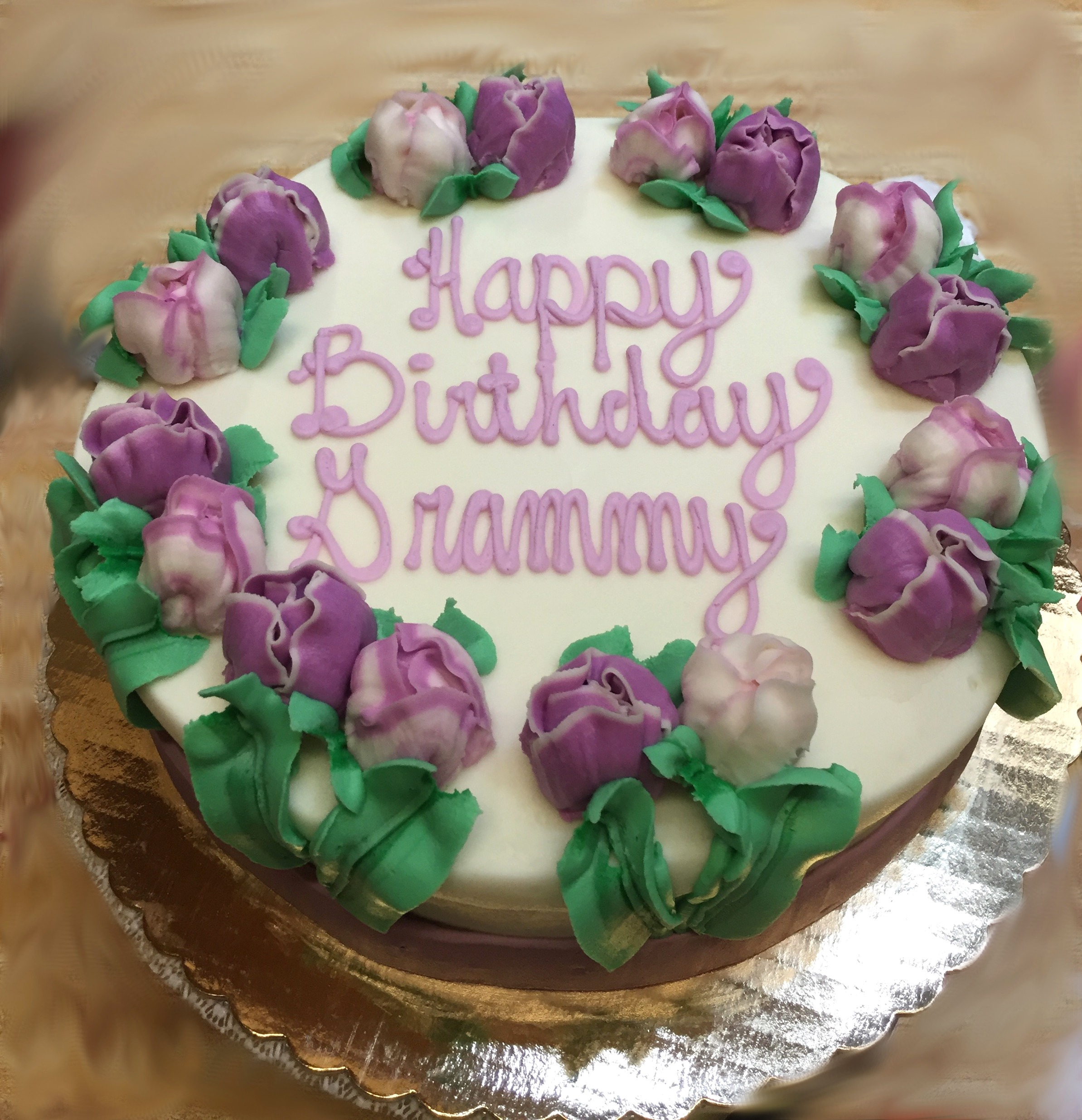 Purple Tulip Cake 26