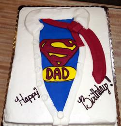SuperDad Cake 39