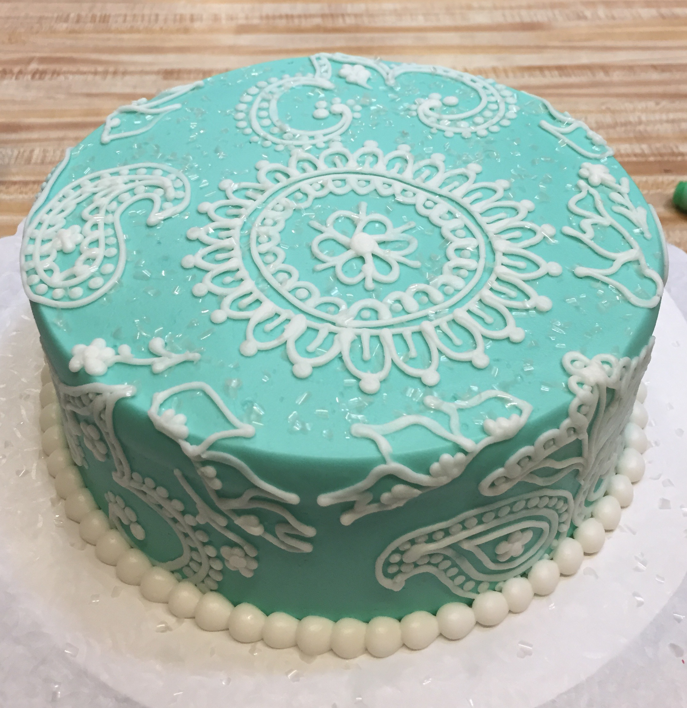 Paisley Cake 32