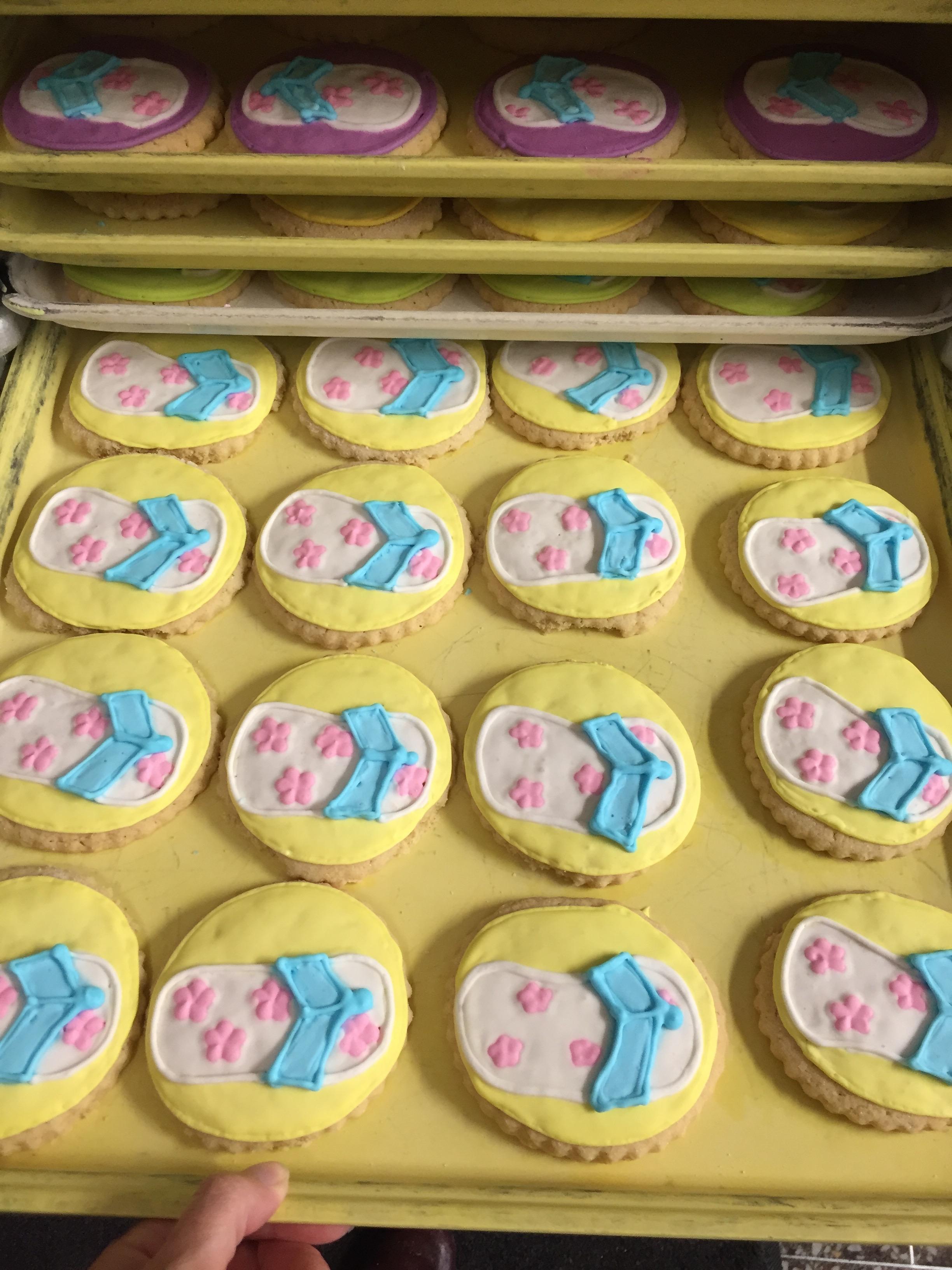Flip Flop Cookies 14