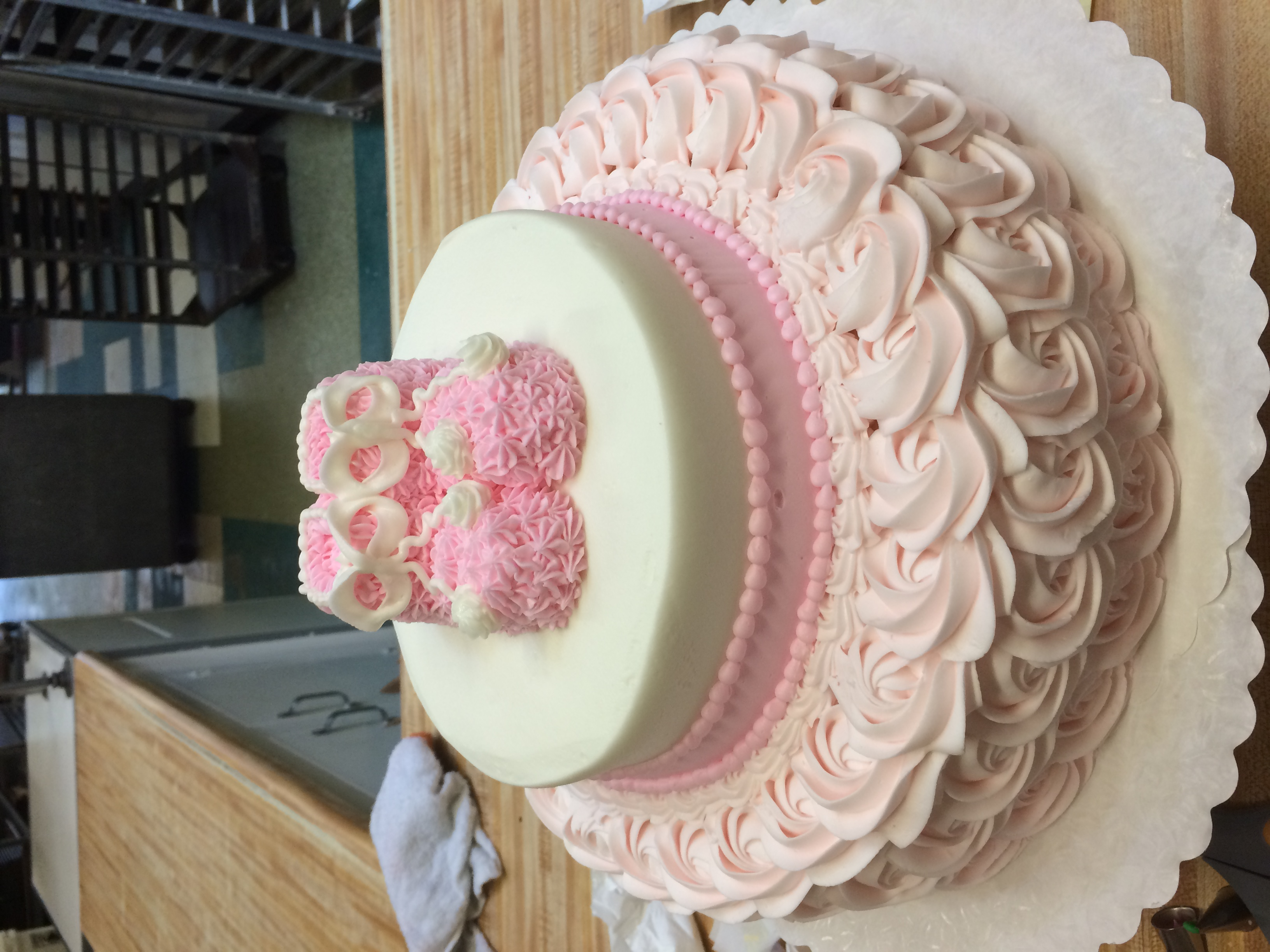 Pink Bootie Cake 9