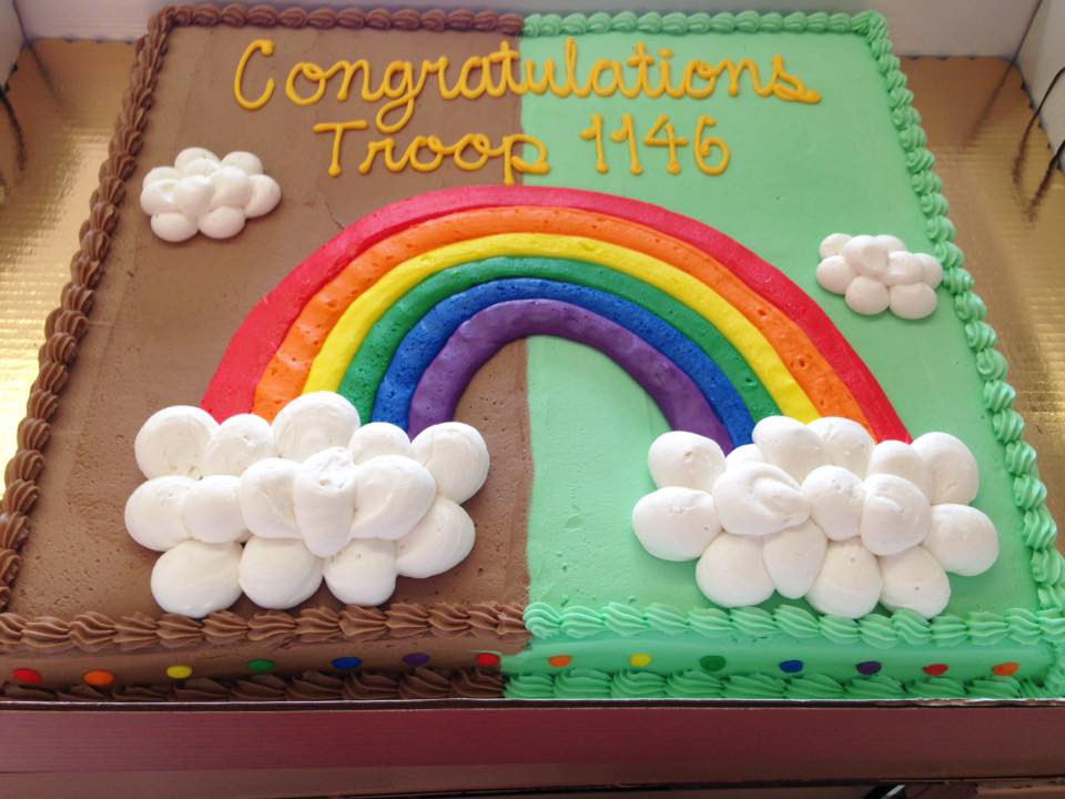Girl Scout Cake 1