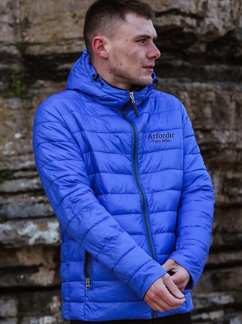Blue Arfordir Padded Jacket