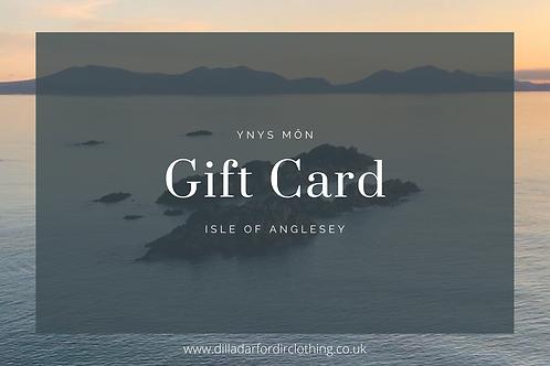 Arfordir Gift Card