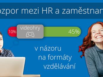 Nesoulad mezi HR a zaměstnanci ve firemním vzdělávání?