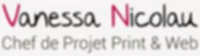 Vanessa Nicolau - Chef de projet print & web - Bordeaux