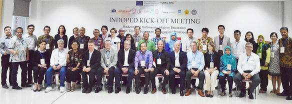 INDOPED partners in the kick-off meeting, Surabaya Indonesia, November 2015