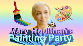 Mary Houlihan's Painting Party - Poster.