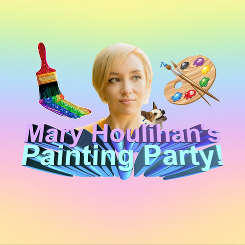 Mary Houlihan's Painting Party - Logo.pn