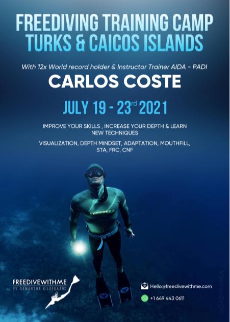 FREEDIVING TRAINING CAMP TURKS & CAICOS