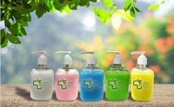urban organics hand wash range