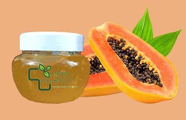 papaya massage gel facial urban organics