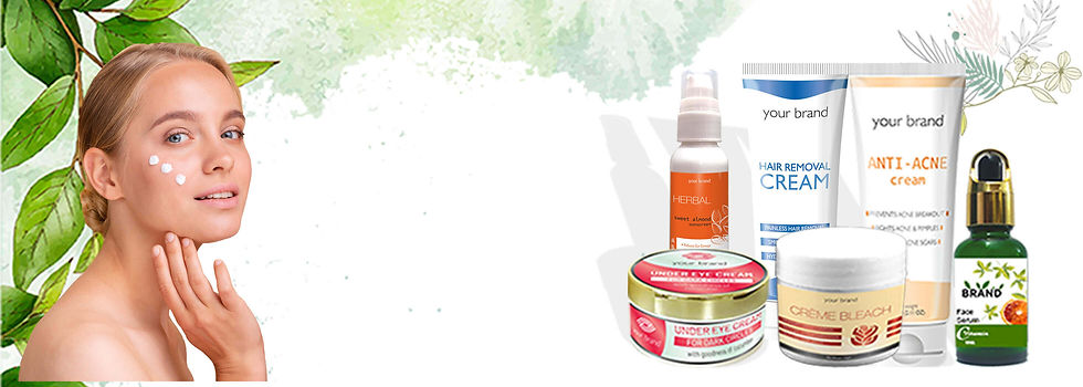SKIN CARE PRODUCTS RANGE MAUFACTURER URB
