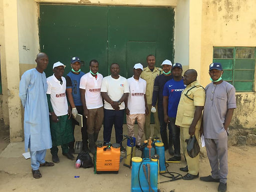 BYCO In Collaboration with Al-Muhibbah Foundation at Bauchi Prison.