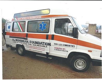 Ambulance donated to Toro Community Bauc