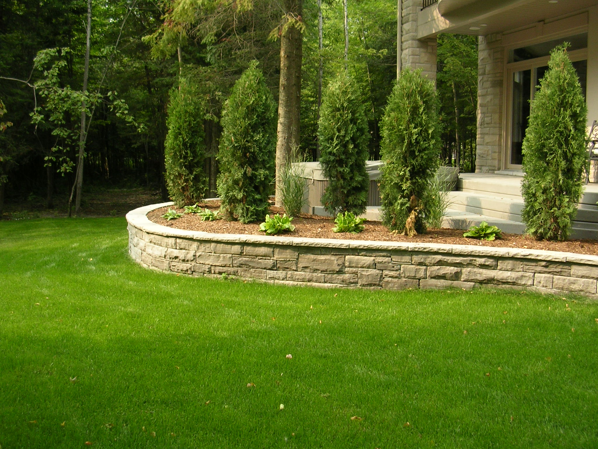 Custom Home Landscape