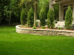 Custom Home Landscape