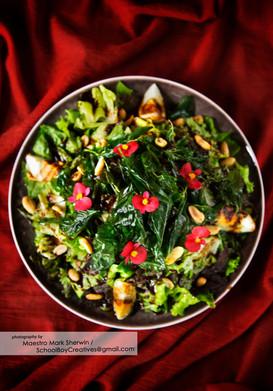 Lime and Basil Salad
