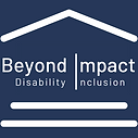 Beyond Impact Disability Inclusion Blue Bank Logo