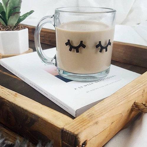 Glass Lashes Coffee Mug