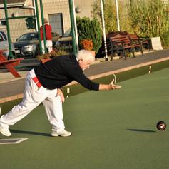 Phil O'Sullivan in action