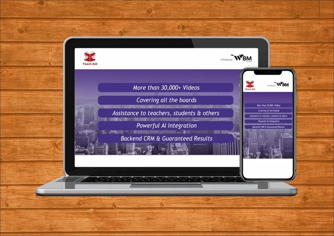 WBM builts India's largest AI based internal web app 'TeachAID'