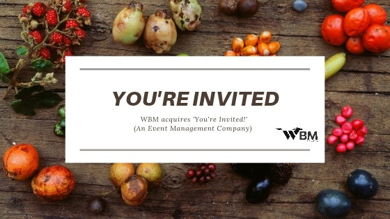 WBM ropes into event management acquires 'You're Invited'
