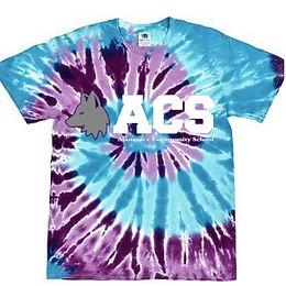 Adult Tie Dyed T-Shirt