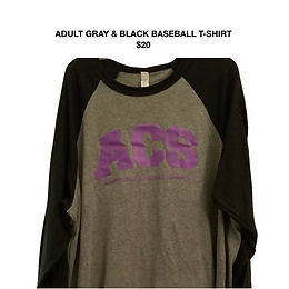 Adult Unisex Baseball T-Shirt