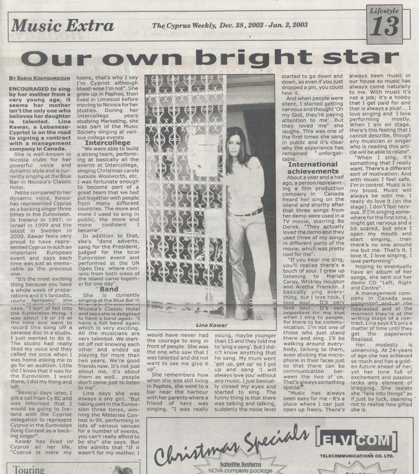 Cyprus Weekly (Cyprus)