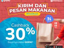 Wehelpyou Delivery & Eat: Bayar pakai GoPay dapetin Cashback 30%