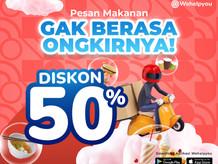 Wehelpyou Eat: Dukung UKM/UMKM Di Tengah Pandemi, Ada Promo Ongkir 50% Nih