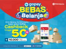 Promo Hemat 50% Dari GoPay di Aplikasi Wehelpyou