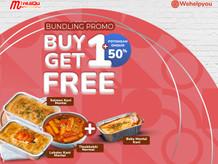 Bundling Promo Wehelpyou Eat, Buy 1 Get 1 dari MentaiQu + Diskon Ongkir 50%