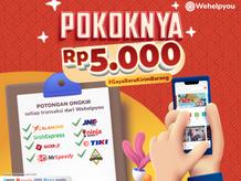 Kirim Barang Lebih Hemat Menggunakan Wehelpyou Delivery: Diskon Ongkos Kirim Rp 5.000!