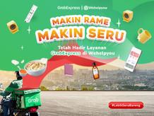 Sambut GrabExpress di Aplikasi Wehelpyou, Kirim Instant & Same Day Delivery Jadi Mantap Deh