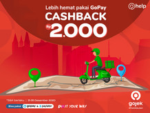 Wehelpyou, Kirim Barang Cashback 2.000 Bayar Via GoPay