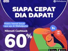 Wehelpyou Delivery dan Eat: Bayar Pake OVO Dapetin Cashback 60%, Pasti Lebih Hemat