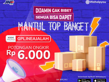 Wehelpyou Delivery: Promo Hemat Awal Bulan Bareng JNE