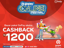 Wehelpyou Cashback GoPay 1.200 Jangan disia-siakan