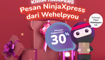 Promo 30% Pesan Ninja Xpress Dari Wehelpyou