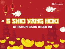5 Shio yang Hoki di tahun baru Imlek ini