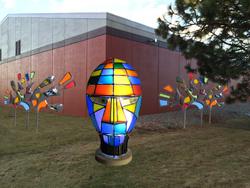 Art at site - Horswill